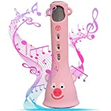Wireless Karaoke Microphone, Best Birthday Present for Girls 4 8 14 20 Years
