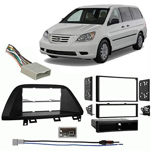 Fits Honda Odyssey 2008-2010 Multi DIN Stereo Harness Radio Install Dash Kit -