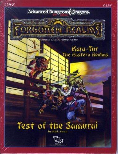 Test of the Samurai (AD&D/Forgotten Realms/Oriental Adventures Module OA7)