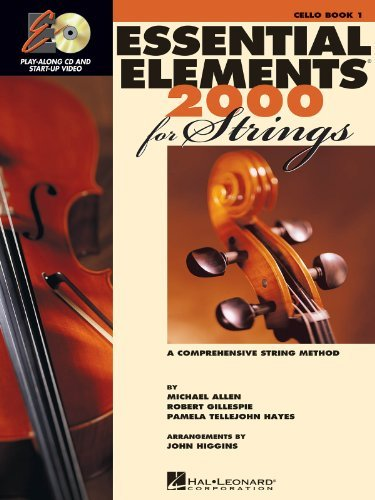 - Essential Elements 2000 for Strings - Book 1 - Cello - BK+CD