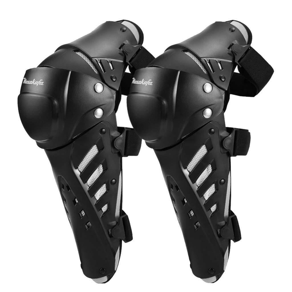 Baosity Motorcycle Motocross Knee Shin Pads Protector Guards Protective Gear Armor