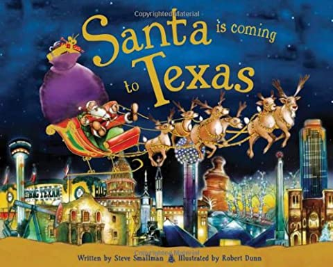 Santa Is Coming to Texas (Coming To America Blu)