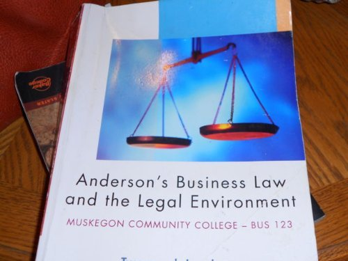 ANDERSON'S BUSINESS LAW >CUSTO