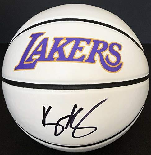 PSA/DNA Los Angeles Laker #0 Kyle Kuzma Autographed Signed Memorabilia Basketball Lebron