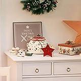 Villeroy & Boch Toy's Delight Box Medium, 27 x 27 x 18.5 cm, White/Red