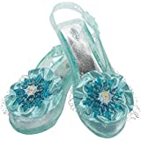 Disguise Disney's Frozen Elsa Shoes Girls Costume, One Size Child