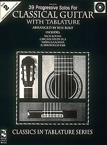 39 Progressive Solos For Classical Guitar  Book 2  Thirty Nine Progressive Solos For Classical Guitar