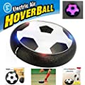 Mansalee Kids Toys Training Football With Parents Game Children Toys Air Power Soccer Disk Indoor Outdoor Hover Soccer Ball Game with LED Lights