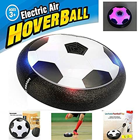Mansalee Kids Toys Training Football With Parents Game Children Toys Air Power Soccer Disk Indoor Outdoor Hover Ball Game with LED - Power Air Hockey