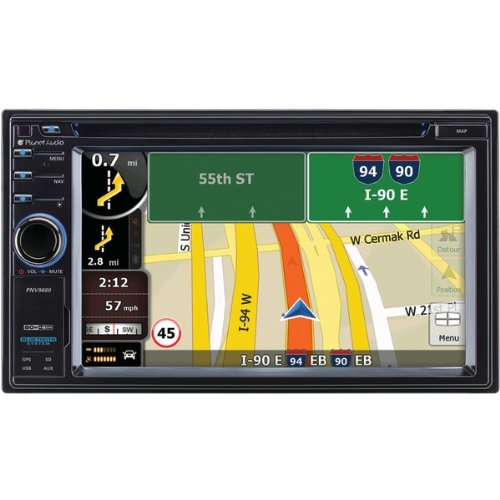 PLTPNV9680 - PLANET AUDIO PNV9680 6.2 Double-DIN I...