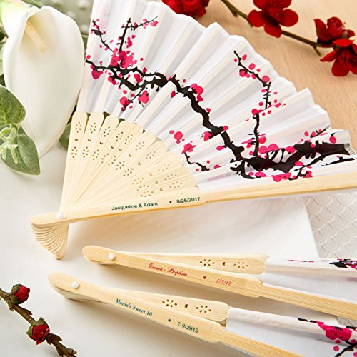 Personalized Cherry Blossom Fan - 3