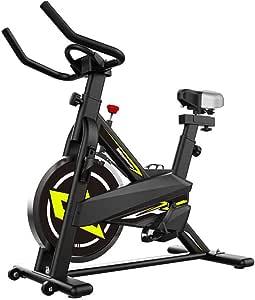 YHSFC Bicicletas estáticas, Bicicletas Equipadas con Aptitud LCD ...