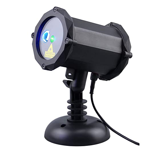 Amazon.com: Lunmore Green Star - Proyector láser con luz LED ...
