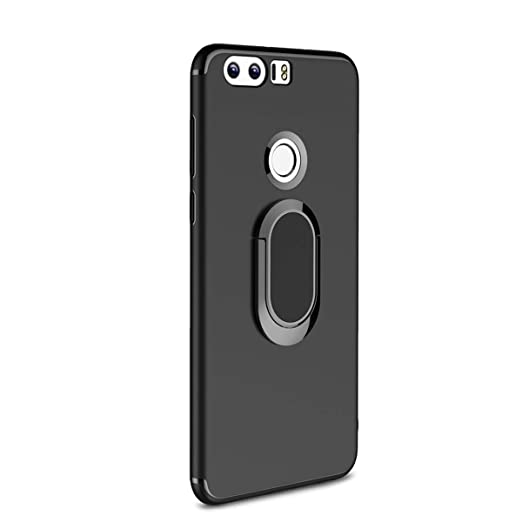 timeless design 6626d 6bcc3 Amazon.com: Case for Huawei Honor 8 Magnetic Car Mount Soft TPU 360 ...