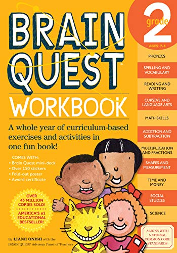(Brain Quest Workbook, Grade 2 )