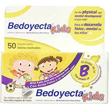 Bedoyecta Childrens Chewables, 50 Count