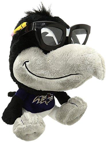 NFL Baltimore Ravens Study Buddy Mascot, Medium, (Baltimore Ravens Mascot)