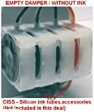 Empty DAMPER part for CISS (Continuous ink supply system) - Flow single valve for HP Canon Printer