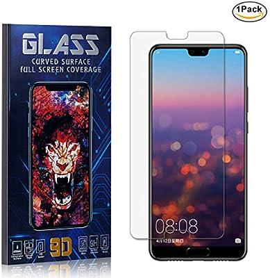Huawei P20 Protector Pantalla, HD Claro Cristal Templado, Vidrio Templado Protector para Huawei P20, 9H Dureza/Alta Transparencia, 1 Piezas: Amazon.es: Bebé