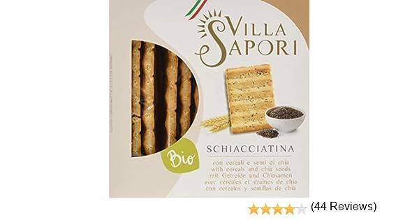 Villa Sapori Pan Crujiente Italiano con ingredientes Ecológicos ...