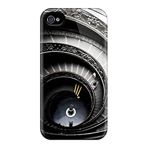 EPm7656mHmd CheapCases Staircase Durable Iphone 4/4s Tpu Flexible Soft Case