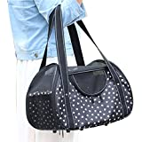Lende Pet supplies out small pet bag portable his pet bags (black)