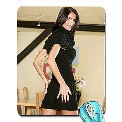 Brunettes Women Dress Pornstars Nessa Devil X Wallpaper Wallpaper Mouse Pad Computer Mousepad