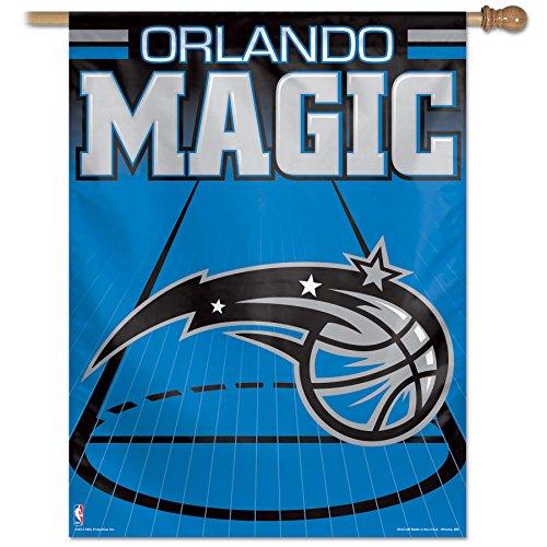 """NBA Orlando Magic Vertical Flag, 27 x 37"""", Multicolor"""