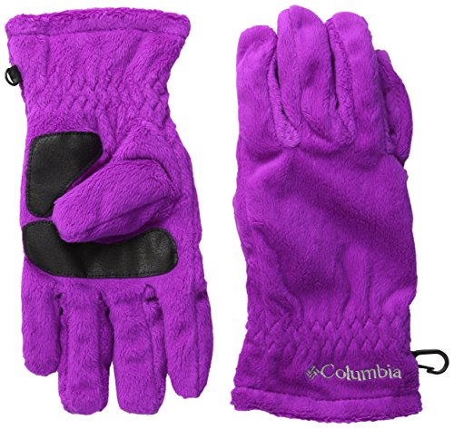 Columbia Women's Hot Dots Glove, Bright Plum, Small - Luscious Silk