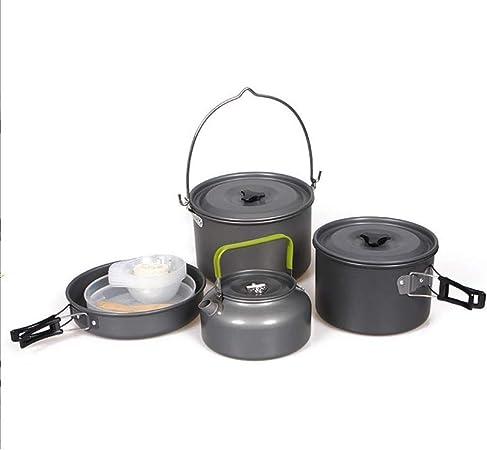Utensilios Cocina Camping Kit Utensilios de cocina de camping ...