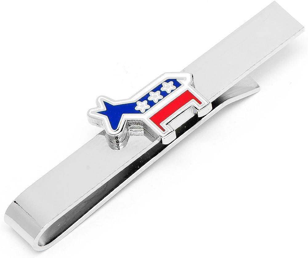 Cufflinks Inc. Men's Democratic Donkey Tie Bar