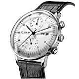 FEICE Men's Automatic Watch Multi-Function Mechanical Watch Dual Time...