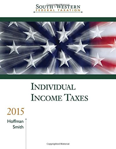 South-Western Federal Taxation 2015: Individual Income Taxes (with H&R Block™ CD-ROM & RIA Checkpoint 1 term (6 months) Printed Access Card) by Cengage Learning