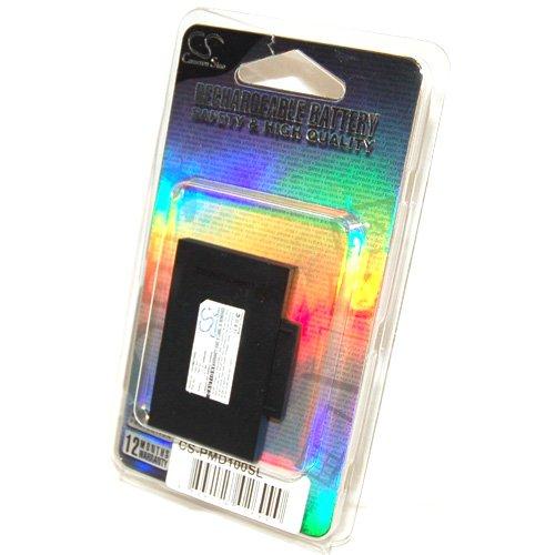 Simply Silver - New Battery fits Alpine Blackbird II GPS PMD-B100 B200 B200B 1000mAh