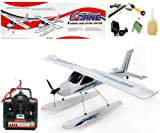 "Azimporter 46"" Wingspan 4 Channel Remote Control Sea-Plane Flying Airplane Toy"