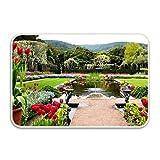 Ranhkdn The Custom Non-slip Doormat Beautiful Spain Roses Entrance Rug Floor Mat Door Mat Rug Indoor/Outdoor/Front Door/Bedroom Mats