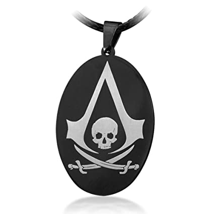 Collar de acero inoxidable Assassins Creed crš¢neo collar ...