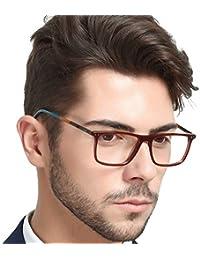 Non-Prescription Eyewear Frame Clear Eyeglasses Men...