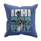 500 LEVEL Ichiro Suzuki Seattle Baseball Pillow - Ichiro Suzuki Robbery