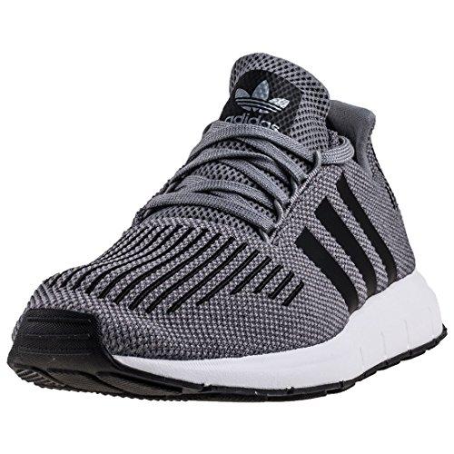 adidas Swift Run, Zapatillas de Running Para Hombre Gris (Grey Two F17/core Black/medium Grey Heather 001)