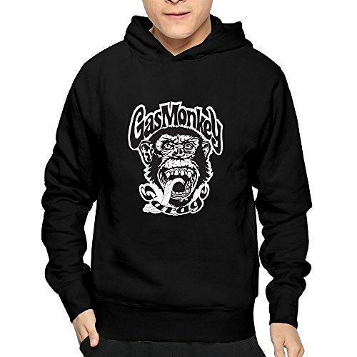 Men Gas Monkey Garage Logo Hoodies Sweatshirts Cool Hoodies Funny