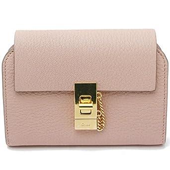 f2b0cd1203ad Amazon | (クロエ) Chloe 【DREW ドリュー】 二つ折り財布CEMENT PINK ...