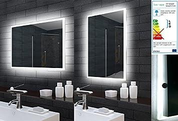 Lux Aqua Badezimmerspiegel Badspiegel Wandspiegel Led Beleuchtung