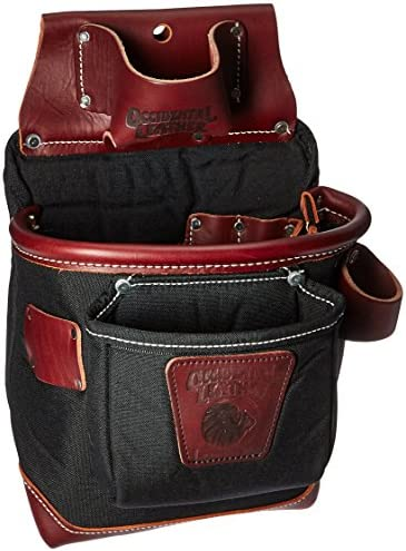 Occidental Leather 8582 Fatlip Tool Bag 10 Deep with 13 Pockets Holders