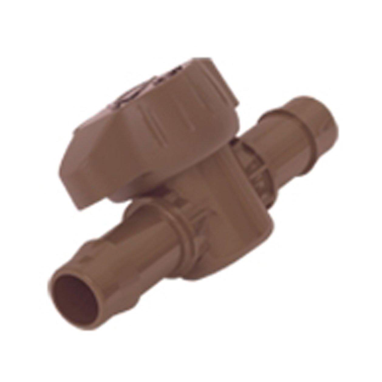 Hunter Sprinkler PLDBV Micro Irrigation Fitting Barbed Valve Standard Plumbing Supply-LG