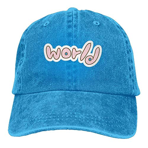 Hat Design World Denim Skull Cap Cowboy Cowgirl Sport Hats for Men Women