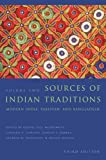 2: Sources of Indian Traditions: Modern India, Pakistan, and Bangladesh (Introduction to Asian Civilizations)