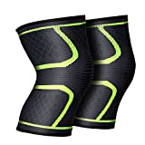 AGPTEK Adjustable Knee Braces Support Patella Knee Strap with Silicone Pad