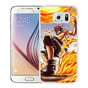 Special Custom Made Portgas D Ace 3 White Samsung Galaxy S6 G9200 Phone Case