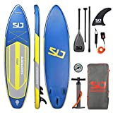 Swonder Premium Inflatable Stand Up Paddle Board, Ultra Durable & Steady, 10'6/11'6 Long